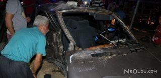 Adana'da İki Araç Çarpıştı: 1 Ölü