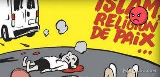 Charlie Hebdo Yine İslam'ı Hedef Aldı