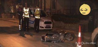 Feci Motor Kazası: 2 Ağır Yaralı