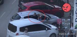 Maltepe'de Kadına Şiddetin Görüntüleri!