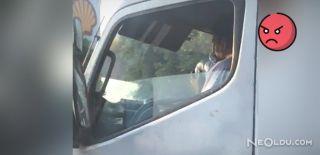 Şoför, Seyir Halindeyken Uyuşturucu Kullandı