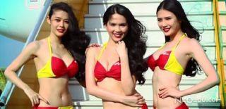 Bikinili Şovuyla Ünlü Havayolu