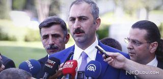 Adalet Bakanı: Lekelenmeme Hakkı Güvenceye Alındı