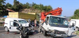 Bir Kişinin Öldüğü Trafik Kazası Kameraya Yansıdı