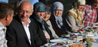 Kılıçdaroğlu Vatandaşlarla Kahvaltı Yaptı