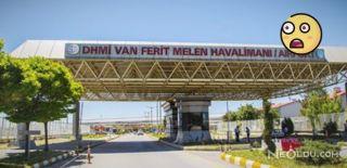 Van Ferit Melen Havalimanı'nda Korkutan Yangın