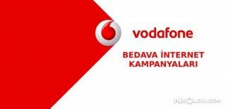 Bedava Vodafone İnternet Paketleri 2018