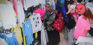Bir Dakikada 3 Kıyafet Çalıp Kayıplara Karıştı