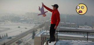 Rusya'da Bir Babanın Yaptıkları Olay Oldu