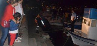 Sinop'ta Otomobil Denize Uçtu