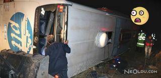 Yozgat'ta Yolcu Otobüsü Devrildi: 3 Ölü 43 Yaralı