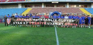 Karabükspor 'Arakan'ı Unutmadı!