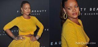 Rihanna Göğüsleriyle Gündem Oldu