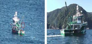Yasa Dışı Avcılık Yapan Tekne Yakalandı!