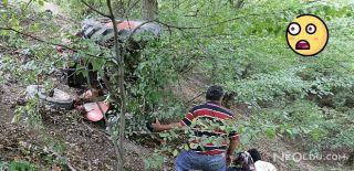 Karabük'te Çocukların Kullandığı Traktör Devrildi!