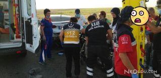 Eskişehir'de Kaza! 13 Araç Birbirine Girdi