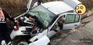 İzmir'de Otomobil Kanala Uçtu: 2 Ölü