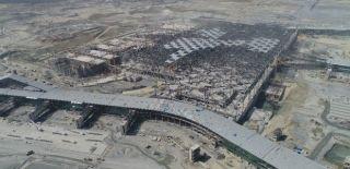 3. Havalimanın Son Durumu Havadan Görüntülendi