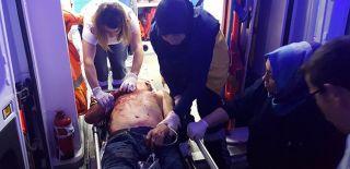 Kanlar İçerisinde Geldiği Hastaneden Firar Etti