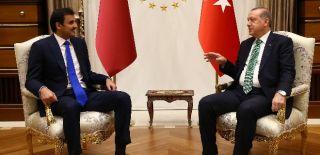 Erdoğan ile Katar Emiri'nden Kritik Toplantı