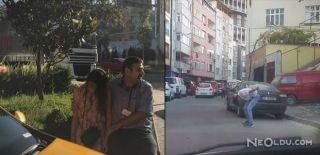 İstanbul'un Merkezinde İbretlik Görüntüler
