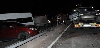 Afyon'da Korkunç Kaza