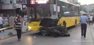 Kadıköy'deki Korkunç Kaza Anı Kameralarda