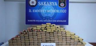 Sakarya'da Uyuşturucuya Büyük Darbe!