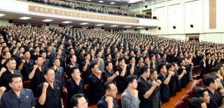 Kuzey Kore'de ABD'ye Karşı Savaş Yemini