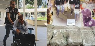 Engelli Aracından 13 Kilogram Esrar Çıktı