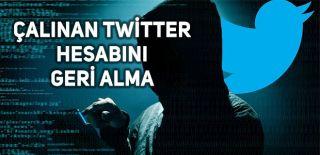 Çalınan Twitter Hesabını Geri Alma