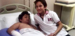 Kahraman Çocuk Kardeşini Kurtardı