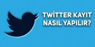 Twitter'a Kaydol Nasıl Yapılır?