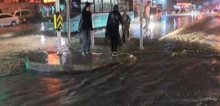 Üsküdar Meydanında Halk Mahsur Kaldı!