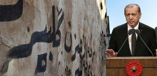 Erdoğan'ın Sözleri Kerkük'ün Duvarlarında Yazılı