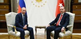 Rus Lider Vladimir Putin Ankara'da