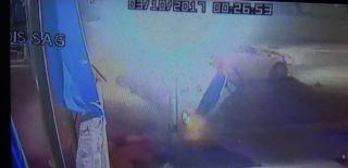Bursa'da Korkunç Kaza! Araç Böyle Takla Attı