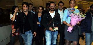 Bollywood Yıldızı Aamir Khan, İstanbul'da