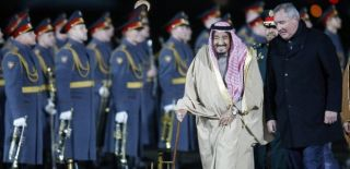 Suudi Arabistan Kralı Moskova'da!