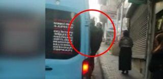 Minibüste Tehlikeli Yolculuk! Kapı Açık Gittiler