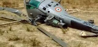 Hindistan Askeri Helikopter Düştü: 7 Ölü