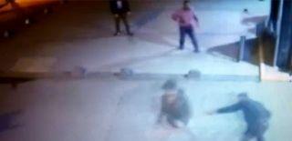 İstanbul'da Üniversite Güvenlik Görevlilerinin Yaralandığı Anlar