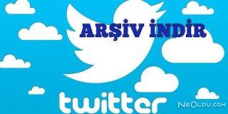 Twitter Arşiv İndir Nasıl Yapılır?