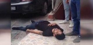 İstanbul'da Bonzai Krizine Giren Gencin Görüntüleri