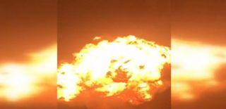 Gana'da Doğal Gaz İstasyonu Patladı