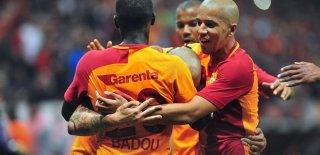 Galatasaray Süper Lig'de İlki Gerçekleştirdi