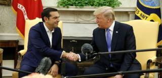 Trump, Çipras'tan Kritik Görüşme!