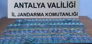 Antalya'da Sahte Dolar Operasyonu