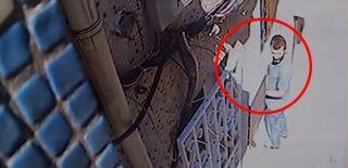 İstanbul'da Hırsızın Rahat Tavırları Kameralara Yansıdı