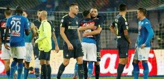 Napoli-Inter Maçı Sessiz Sona Erdi!